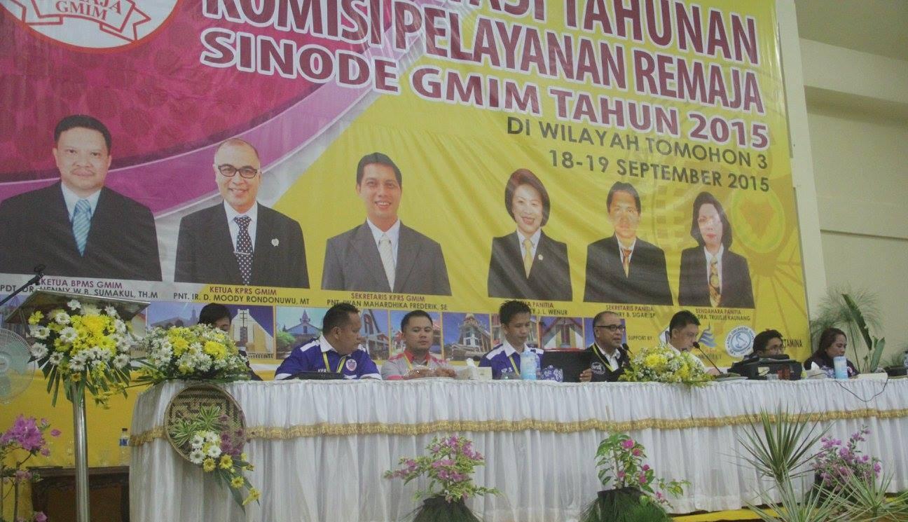 Konsultasi Tahunan KPRS GMIM 2015 di Tomohon 3