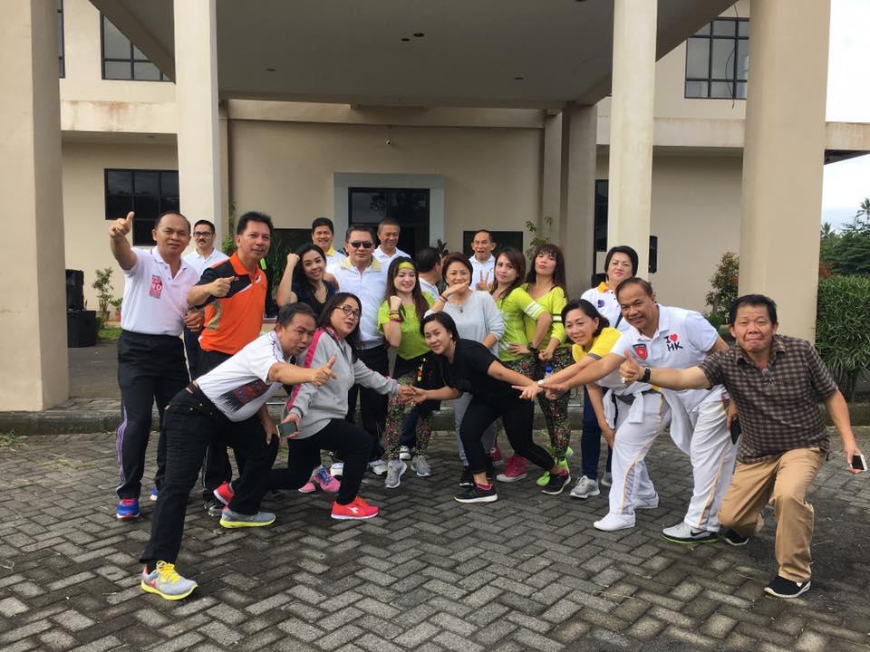 Olahraga Bersama DPRD Kota Tomohon