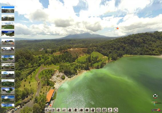 WOW!!! Sekarang bisa menikmati Keindahan Kota Tomohon dalam Panorama 360
