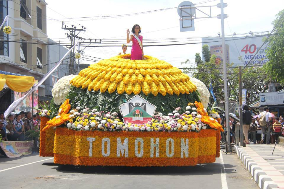 Inilah urutan 30 Peserta Kendaraan Hias di Tomohon International Flower Festival (TIFF) 2016