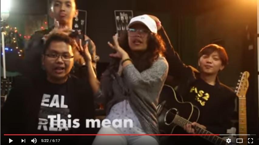 Cover lagu Internasional, grup asal Kota Tomohon, EYN siap mencuri perhatian di youtube