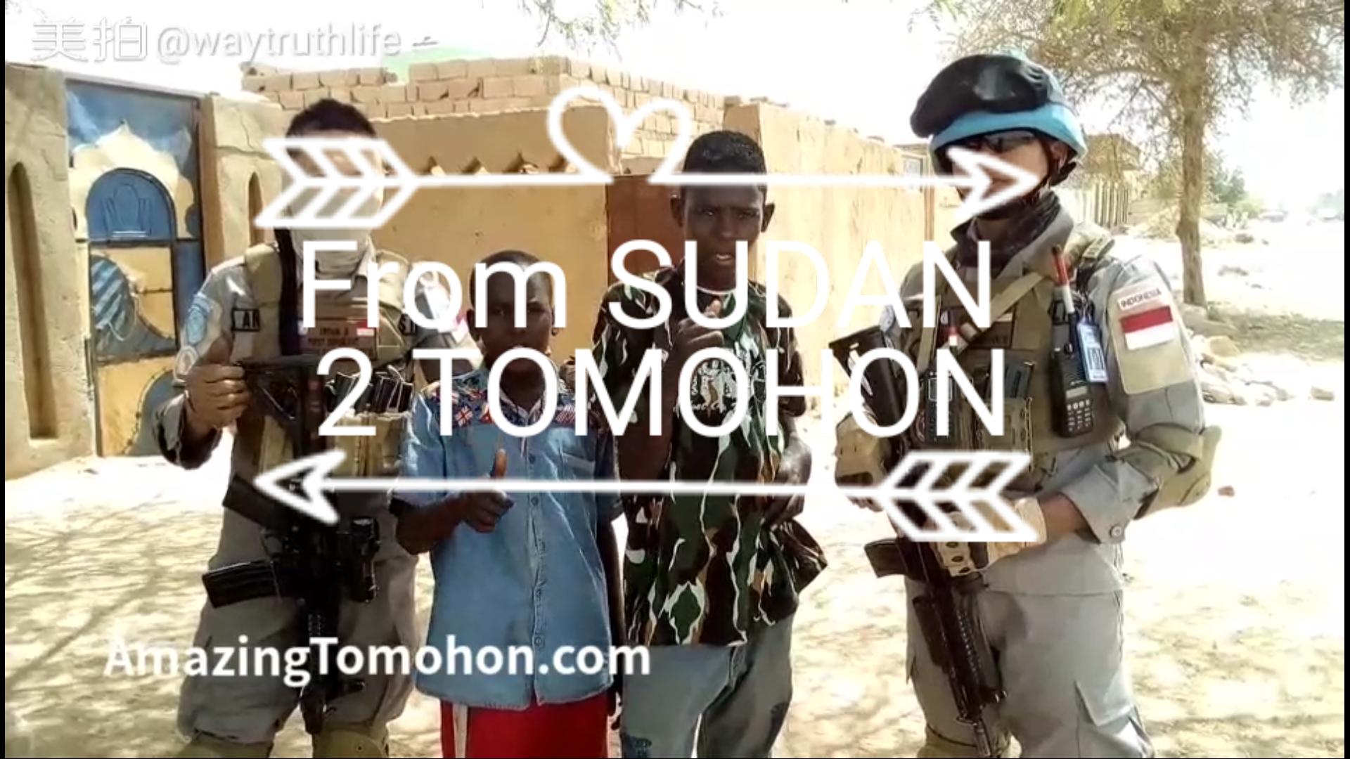 Orang Sudan Afrika bicara soal Tomohon, Bagaimana bisa? Apakah tanya google?