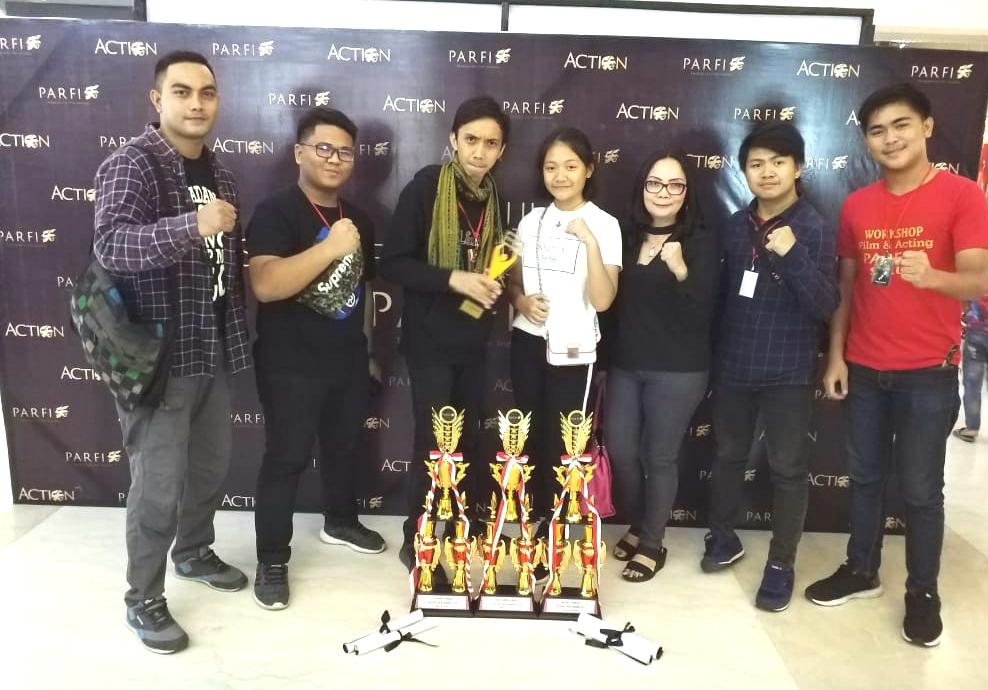 """Film Pendek """"34 MENIT"""" besutan anak muda Kota Tomohon raih 4 Penghargaan di acara Road to FFI 2018"""