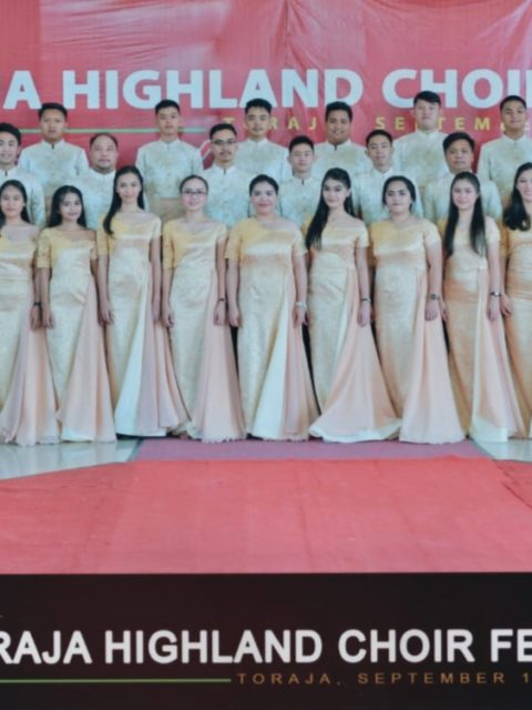 Champion Winner di Mixed Choir, REM Tomohon diadu dengan 6 Peserta lainnya di Grand Prix Winner 1st THCF 2019