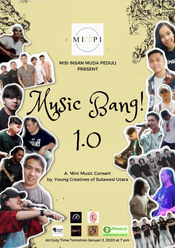 Apa itu MUSIC BANG 1.0? #MIMPIPROJECT TOMOHON 2020