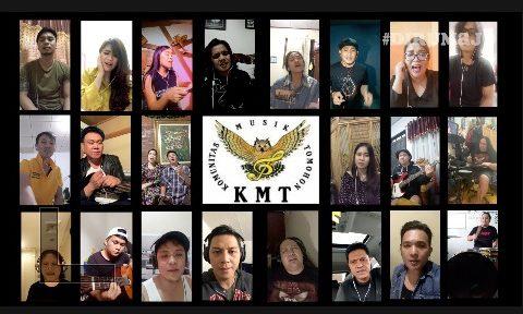 Mendukung Program Pemerintah Di Rumah Saja terkait COVID 19, Komunitas Musik Tomohon (KMT) keluarkan karya ala Social Distancing, Cekidot !!!