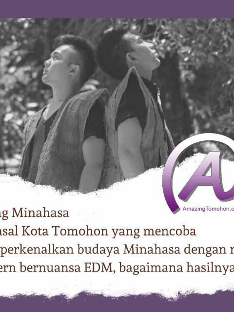 Young Minahasa, Duo asal Tomohon yang memperkenalkan budaya minahasa dengan musik modern, memang bisa?